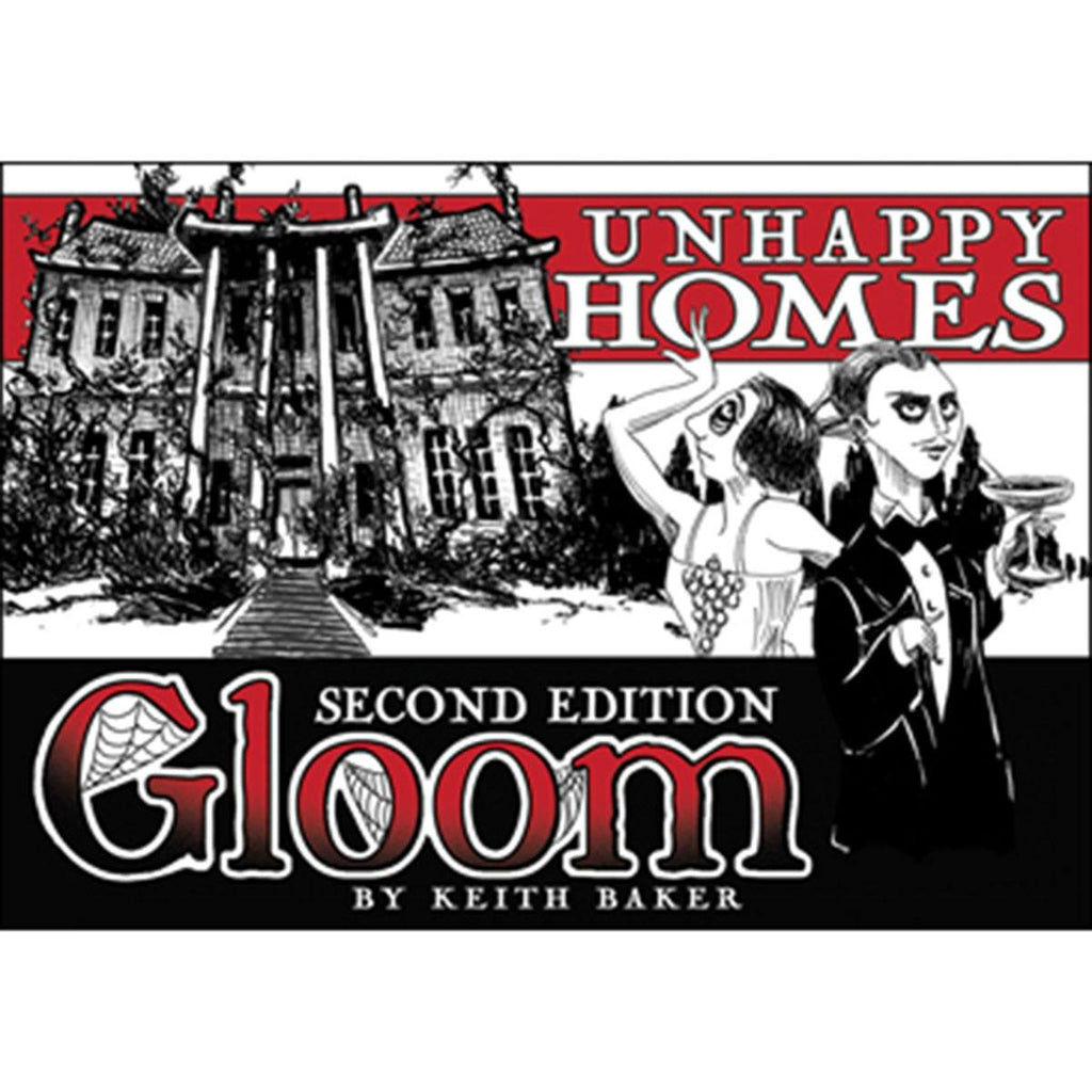 Gloom Unhappy Homes The Card Game Expansion - Radar Toys