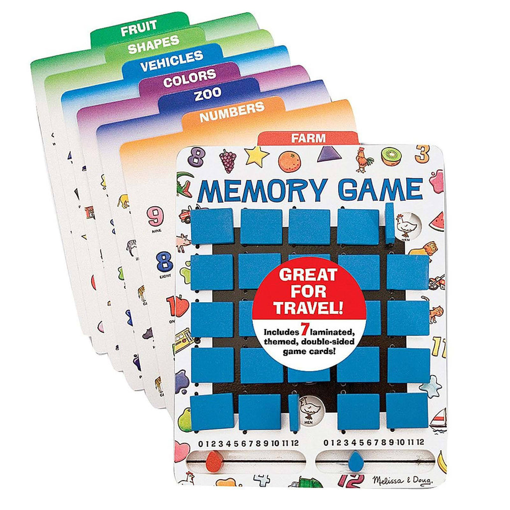 Melissa And Doug Flip To Win Memory Wooden Game