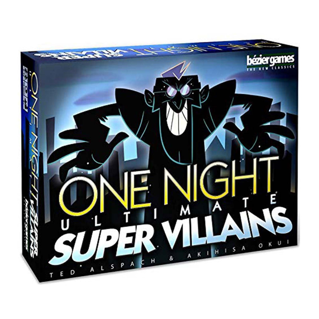 One Night Ultimate Super Villains The Card Game