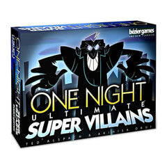 Card Games - One Night Ultimate Super Villains The Card Game