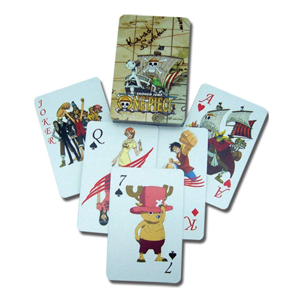 One Piece Shonen Jump Playing Cards