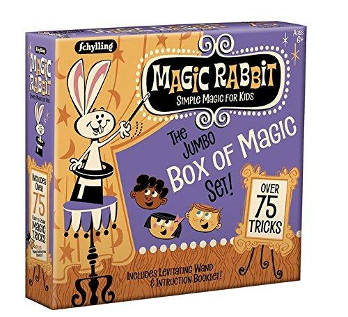 Schylling Magic Rabbit Jumbo Box Of Magic Set