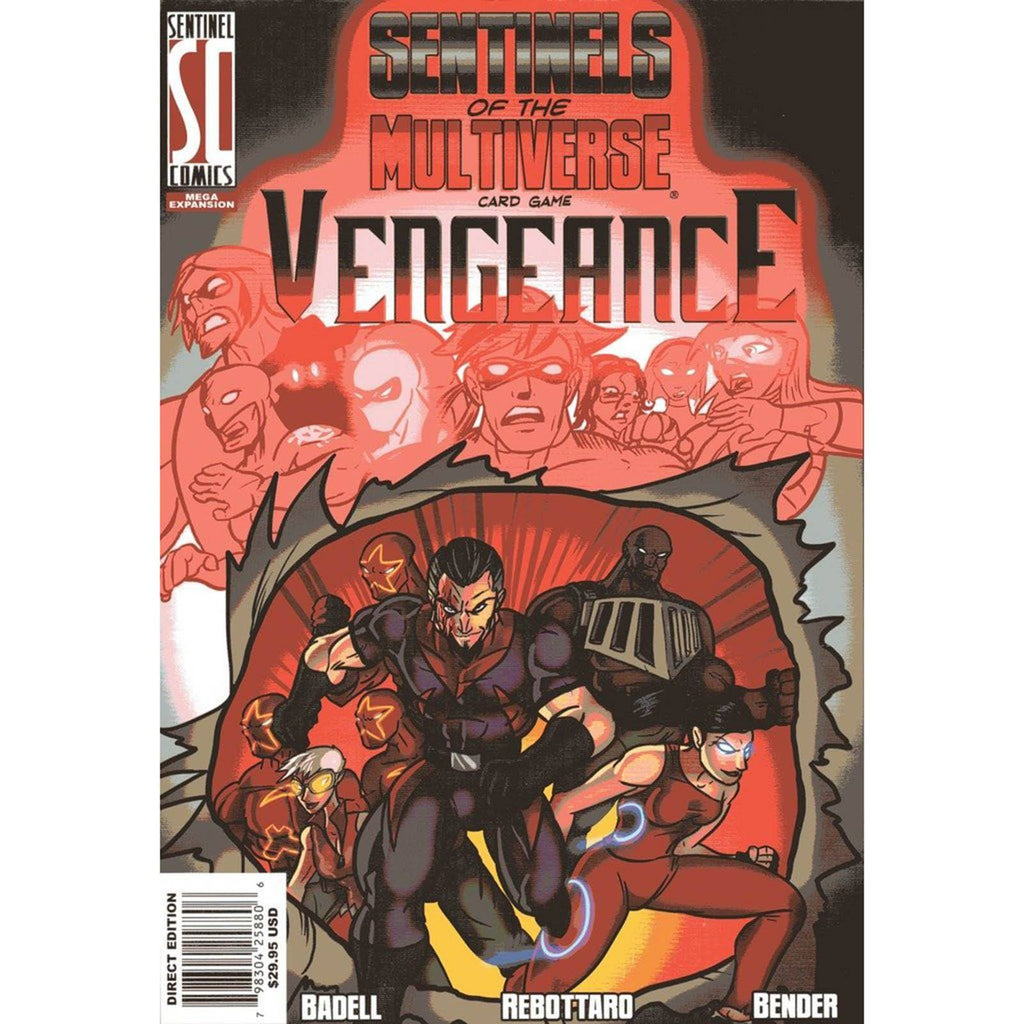 Sentinels Of The Multiverse Vengeance Expansion Card Game