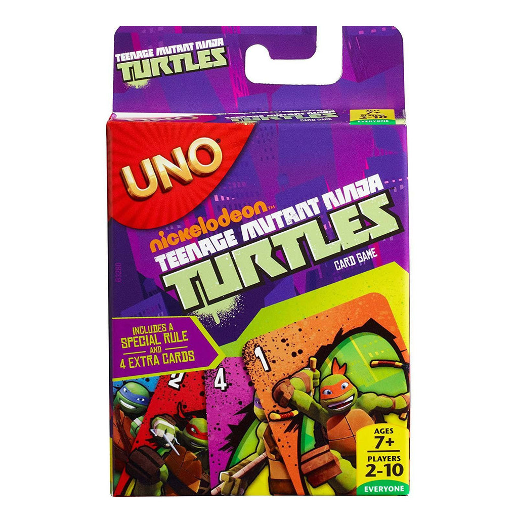 Teenage Mutant Ninja Turtles Uno The Card Game