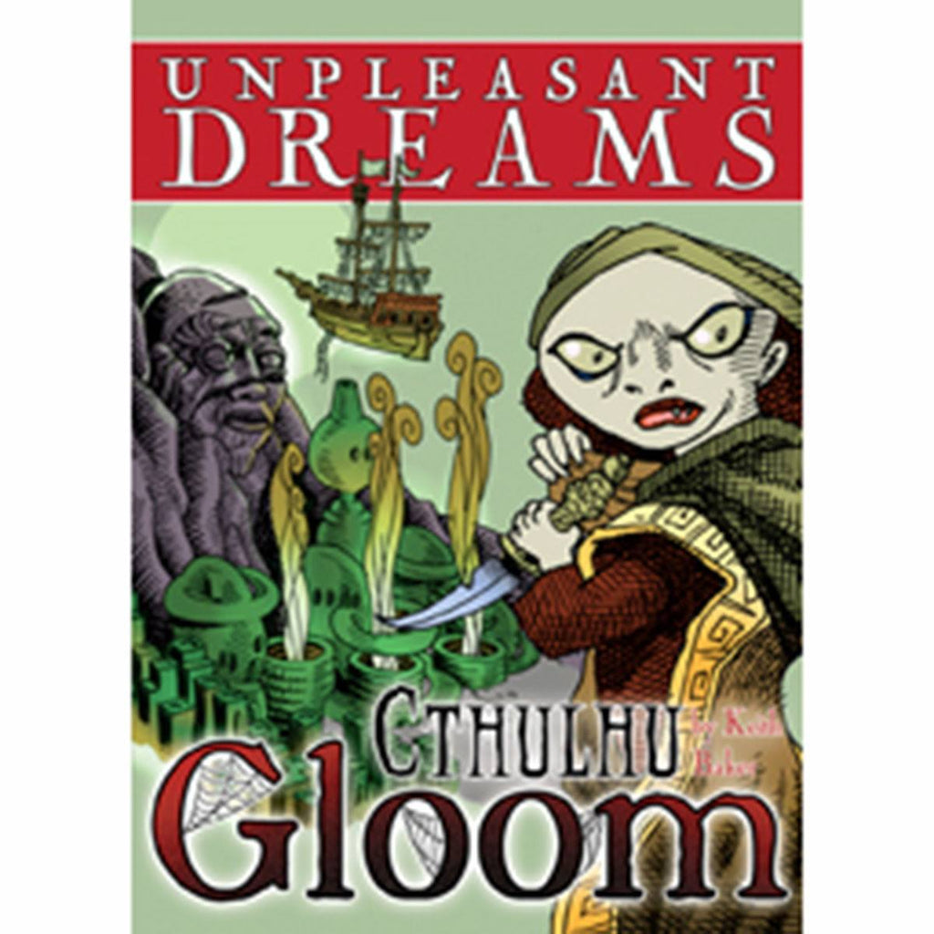 Unpleasant Dreams Cthulhu Gloom The Card Game Expansion - Radar Toys