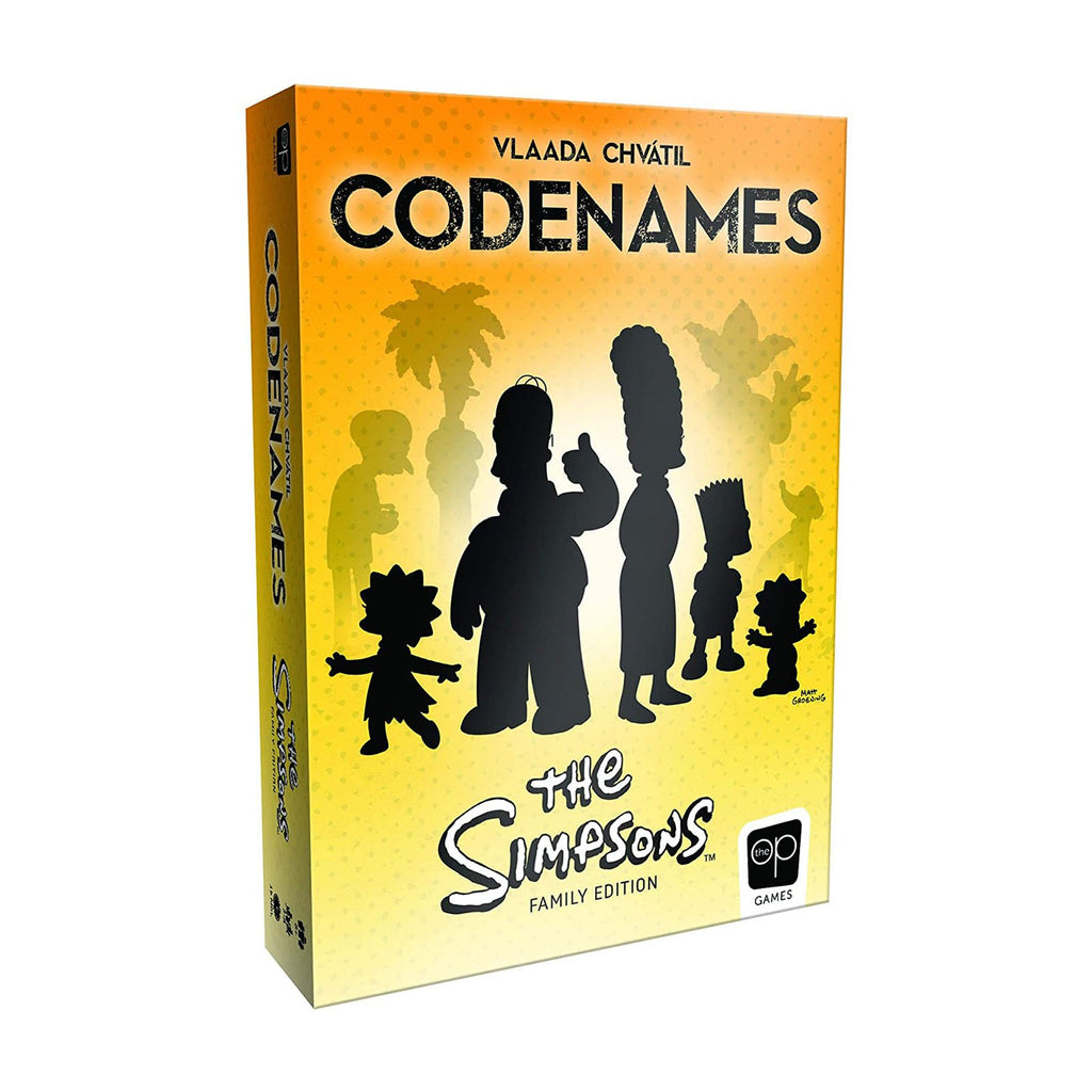 USAopoly Codenames The Simpsons The Game