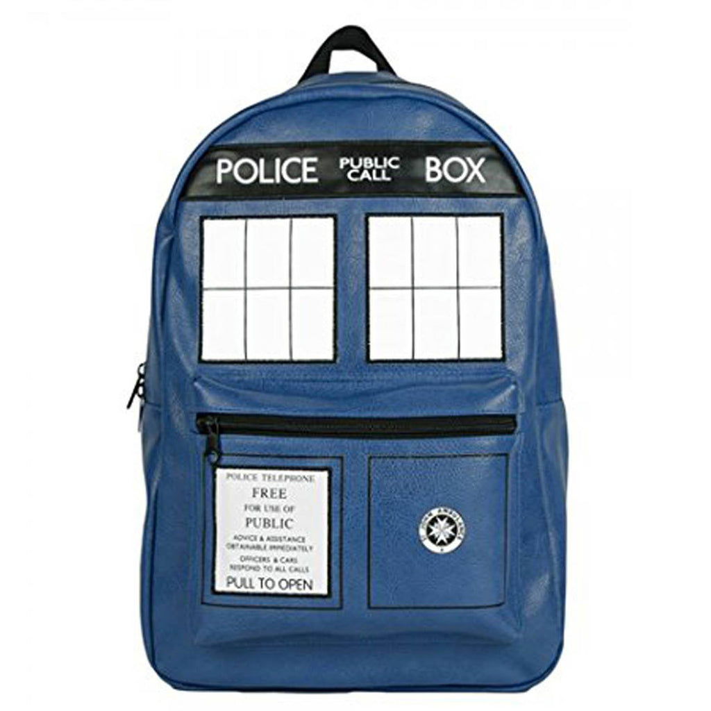Doctor Who Tardis Photo Backpack