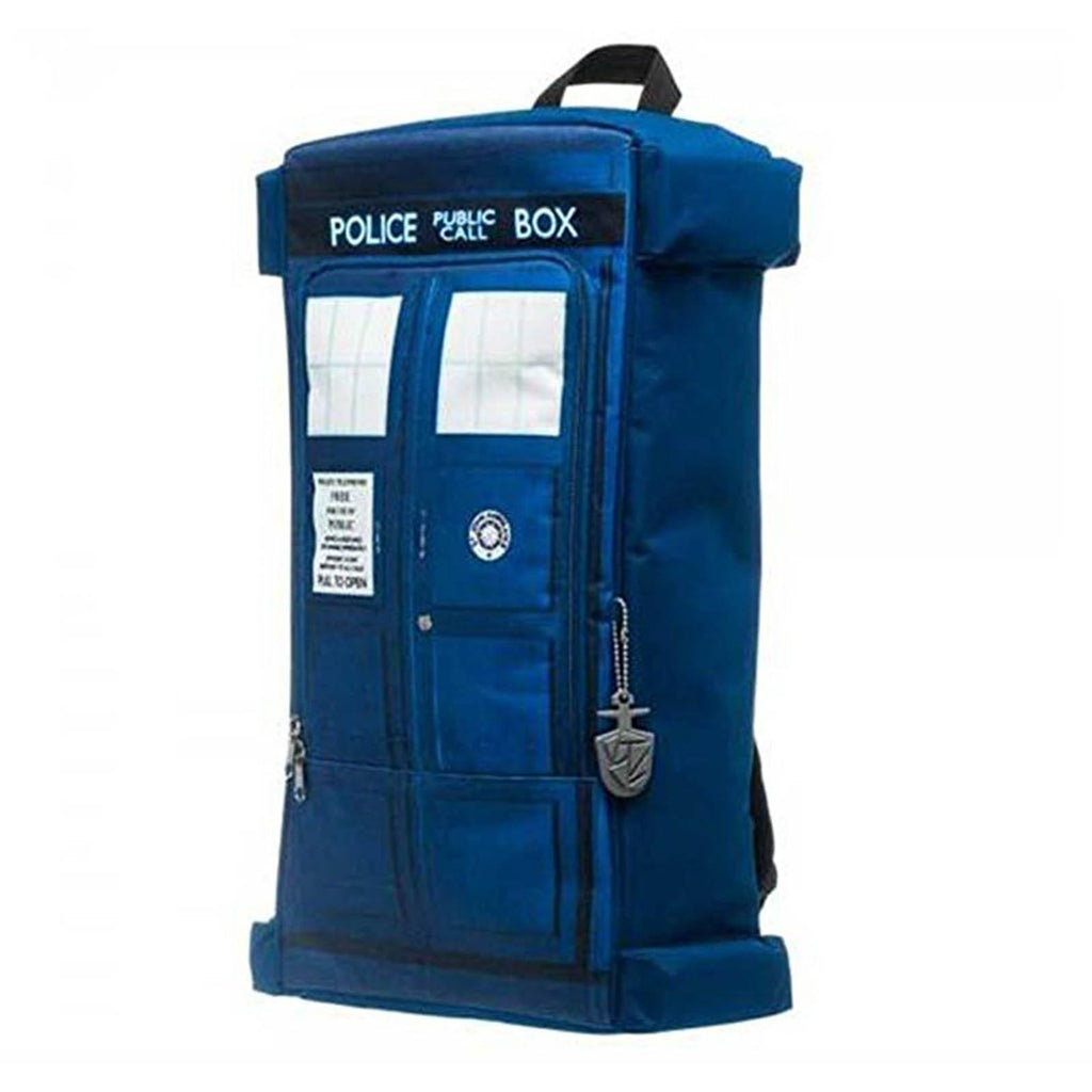 Doctor Who Tardis Police Box Canvas Backpack