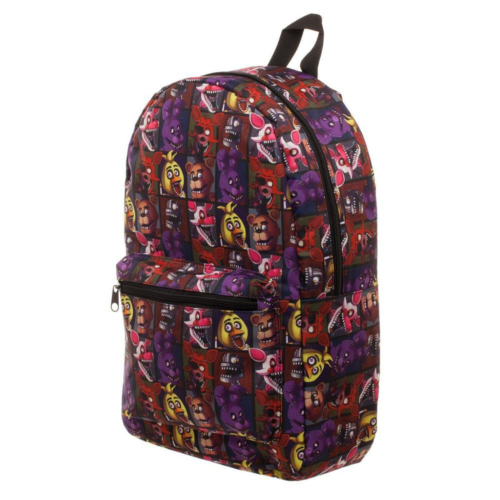 Five Nights At Freddy's Nightmare All Over Print Backpack