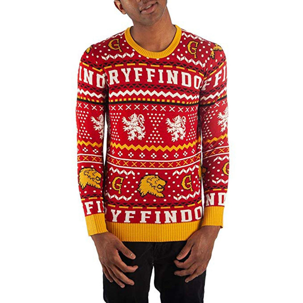 Harry Potter Gryffindor Sweater Adult