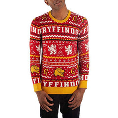 Clothing - Harry Potter Gryffindor Sweater Adult