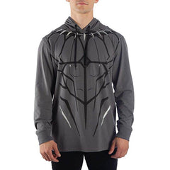 Clothing - Marvel Black Panther Pullover Light Hoodie