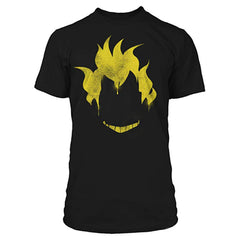 Clothing - Overwatch Junkrat Spray Black Tee Shirt