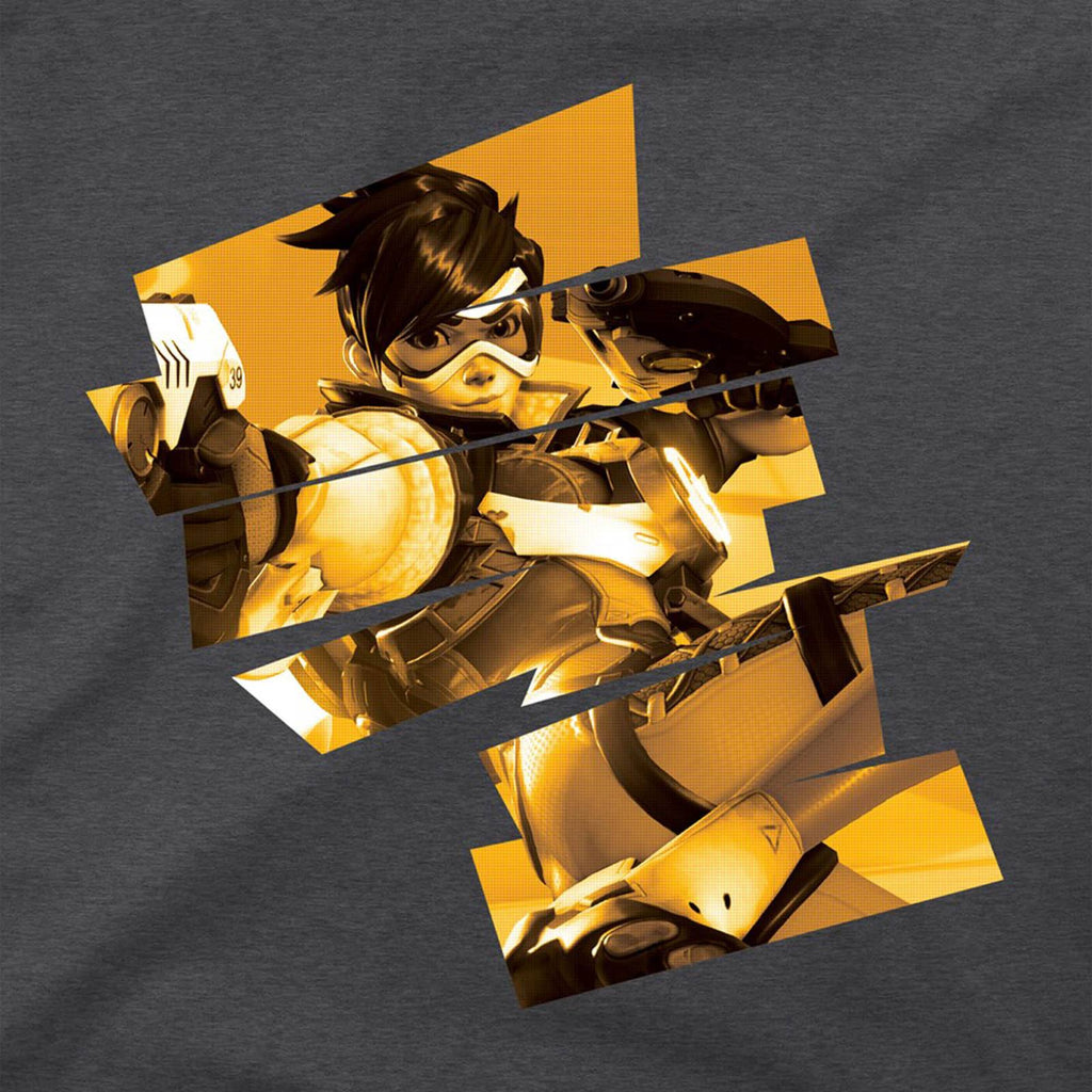 Overwatch Tracer Cheers Love! Premium Tee Shirt