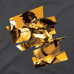 Overwatch Tracer Cheers Love! Premium Tee Shirt - Radar Toys