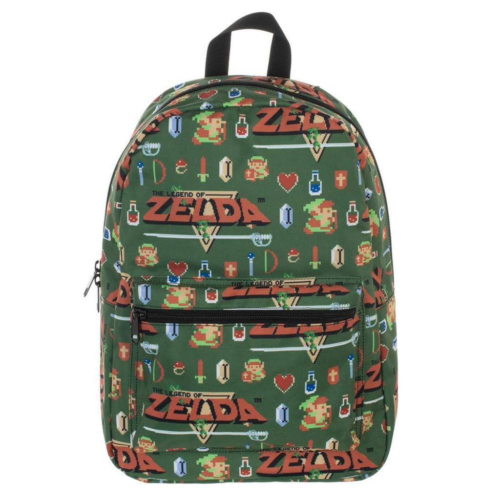 Zelda Retro Map Backpack