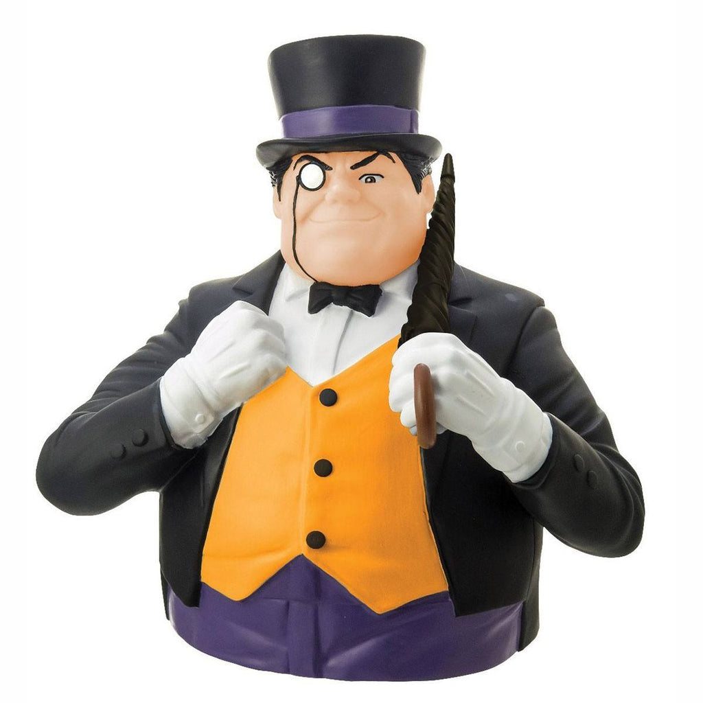 DC Comics The Penguin Bust Bank