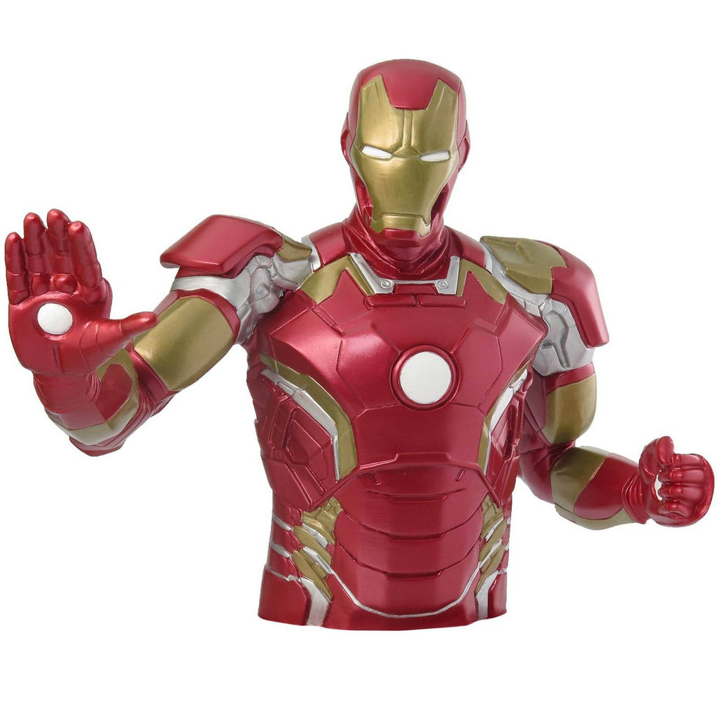 Marvel Avengers 2 Iron Man Bust Bank