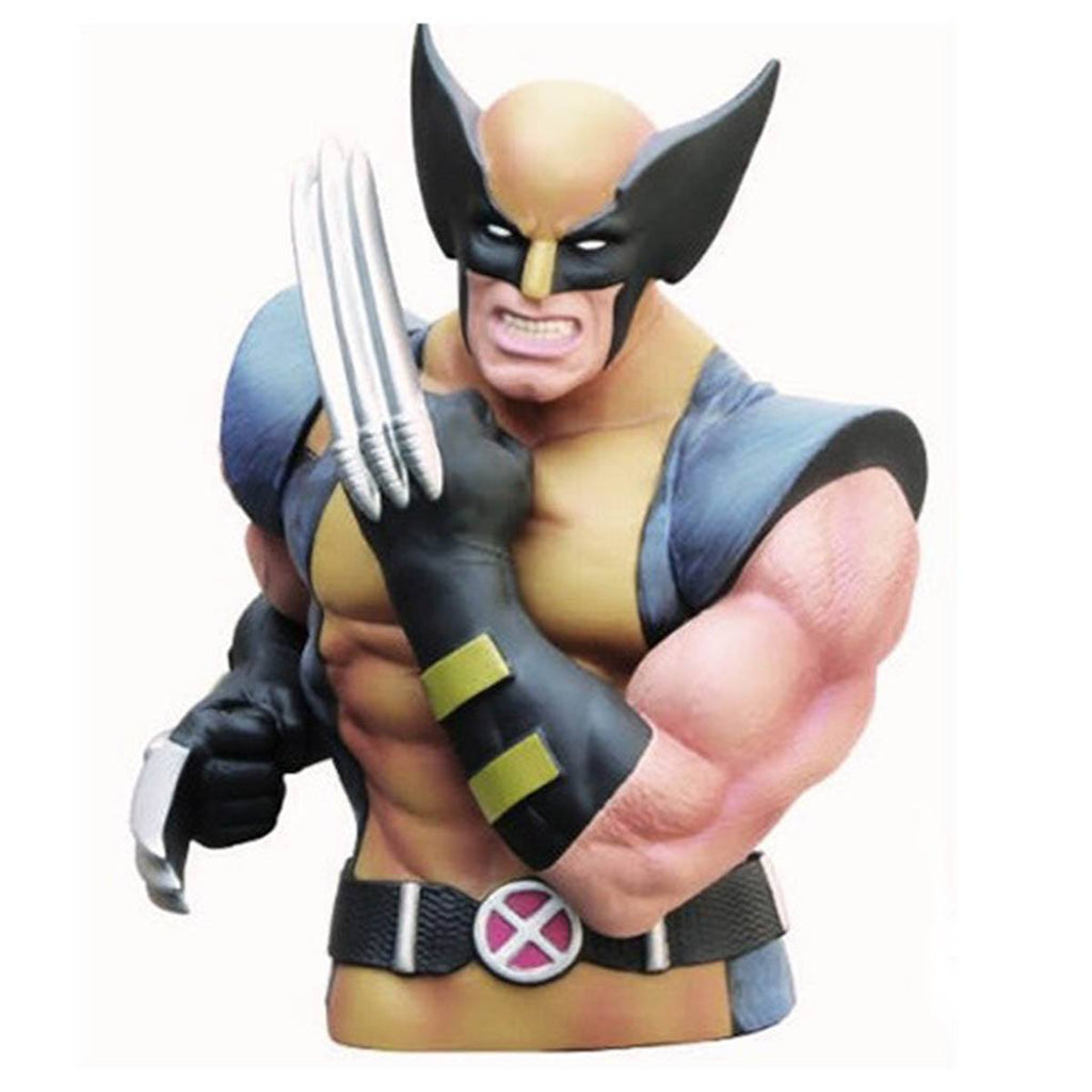 Marvel X-Men Wolverine Bust Bank - Radar Toys