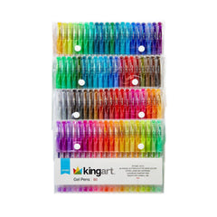 Crafts - Kingart Studio 80 Count Gel Pens Set 400-80
