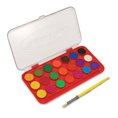 Crafts - Melissa And Doug 21 Color Washable Deluxe Watercolor Set