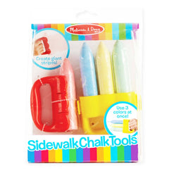 Crafts - Melissa And Doug 3 Colors At Once Sidewalk Chalk Tool