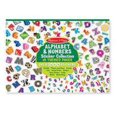 Crafts - Melissa And Doug Alphabet And Numbers Sticker Collection