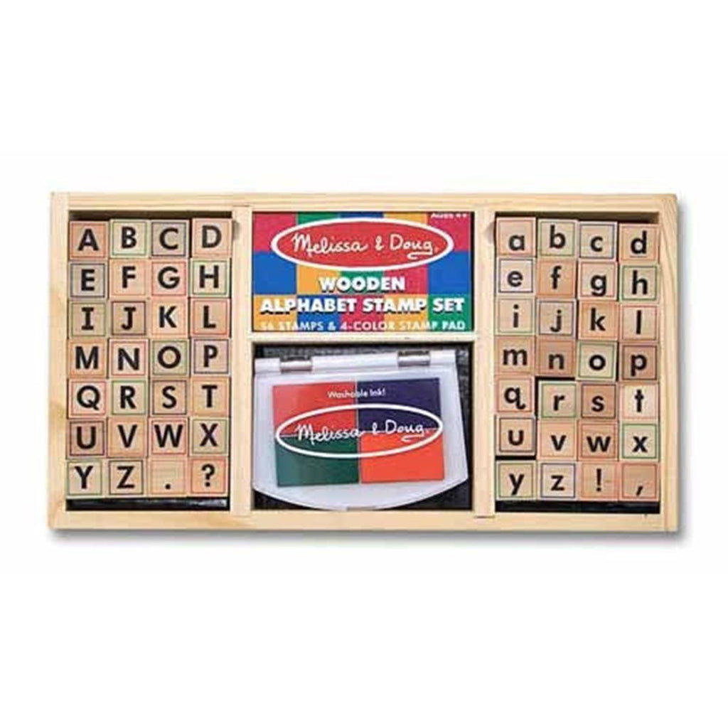 Melissa and Doug Alphabet Stamp Set - Radar Toys