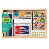 Crafts - Melissa And Doug Classroom Wooden Stamp Set