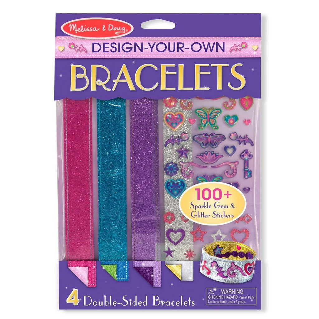 Melissa And Doug Decorate Your Own Bracelets Craft Set