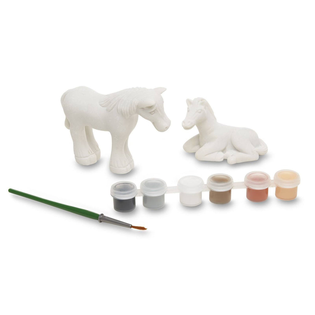 Melissa And Doug Decorate Your Own Horse Figures Craft Set