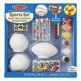 Crafts - Melissa And Doug Decorate Your Own Sports Set