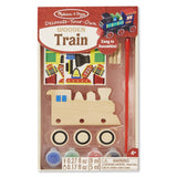Crafts - Melissa And Doug Decorate Your Own Wooden Train Craft Set