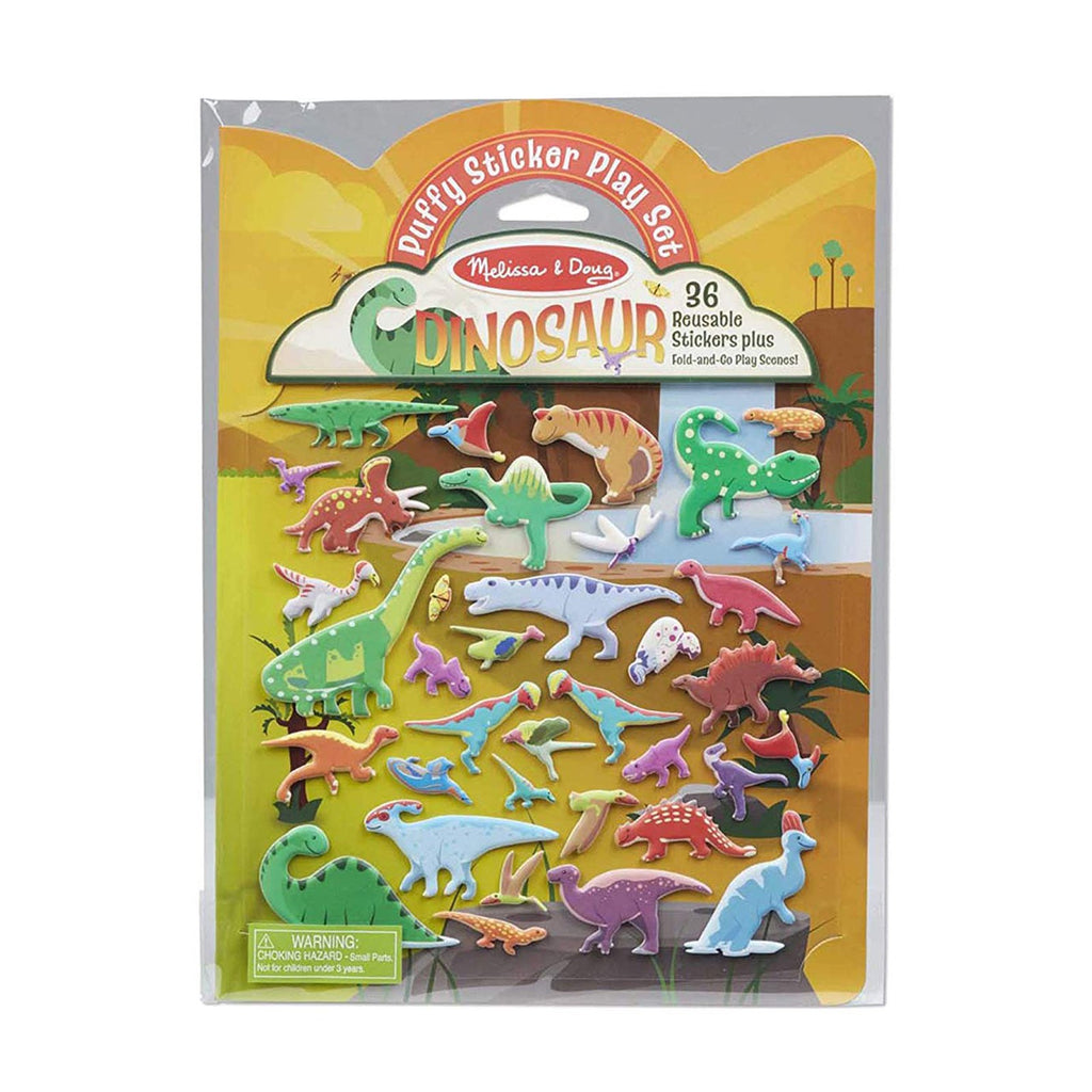 Melissa And Doug Dinosaur Puffy Sticker Play Set