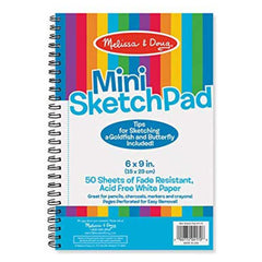 Crafts - Melissa And Doug Mini Sketch Pad 6 By 9 Inches
