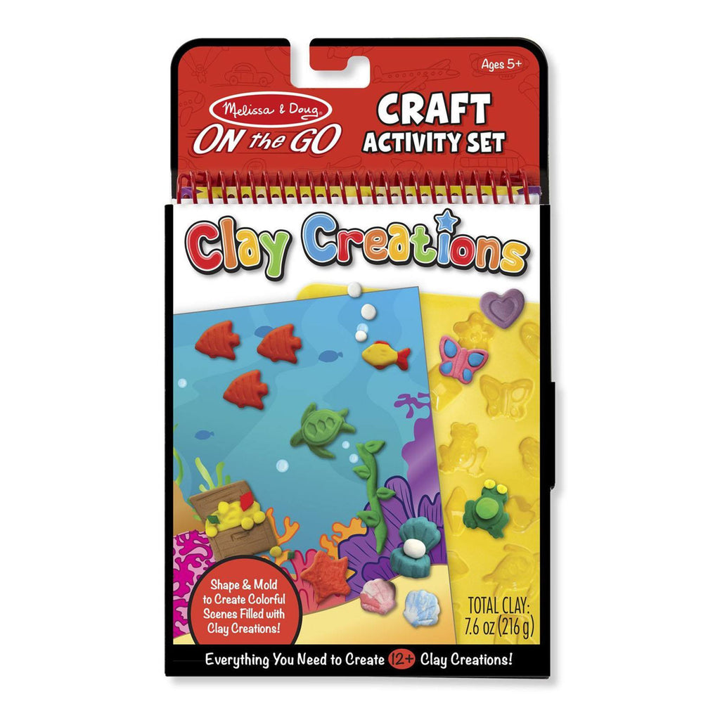 Crafts - Melissa And Doug On The Go Clay Creations Craft Set