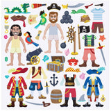 Crafts - Melissa And Doug Pirate Puffy Reusable Sticker Play Set
