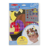 Crafts - Melissa And Doug Simply Crafty 4 Adventure Hats Set