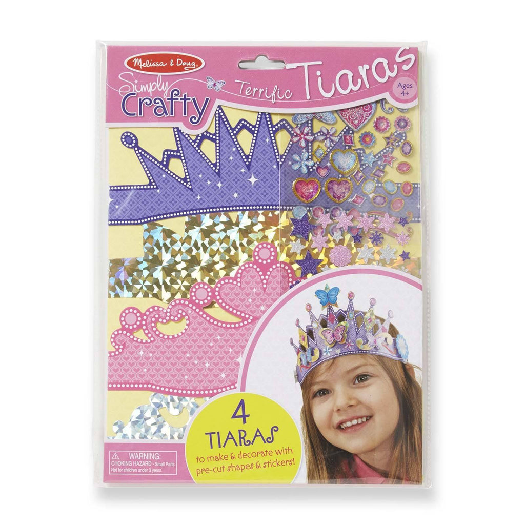 Melissa And Doug Terrific Tiaras Craft Set
