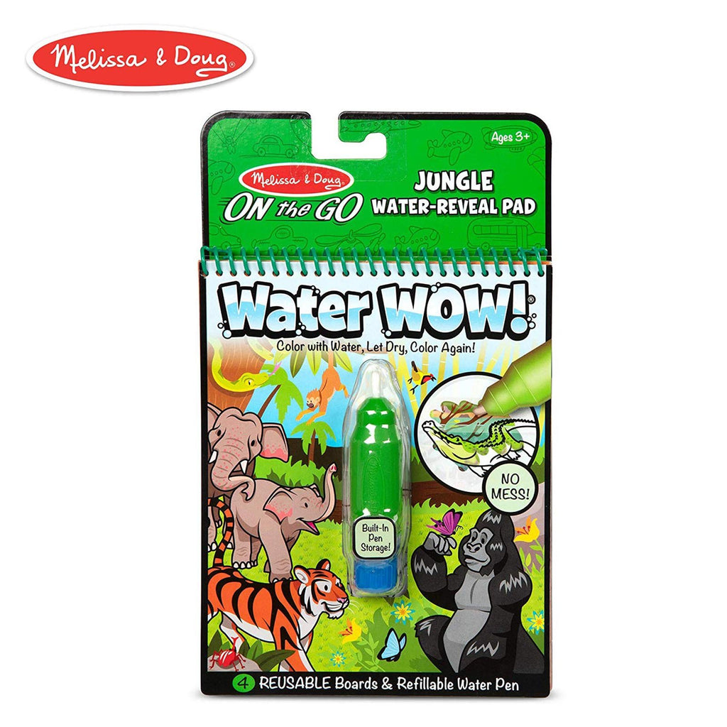 Melissa And Doug Water Wow On The Go Jungle Pad