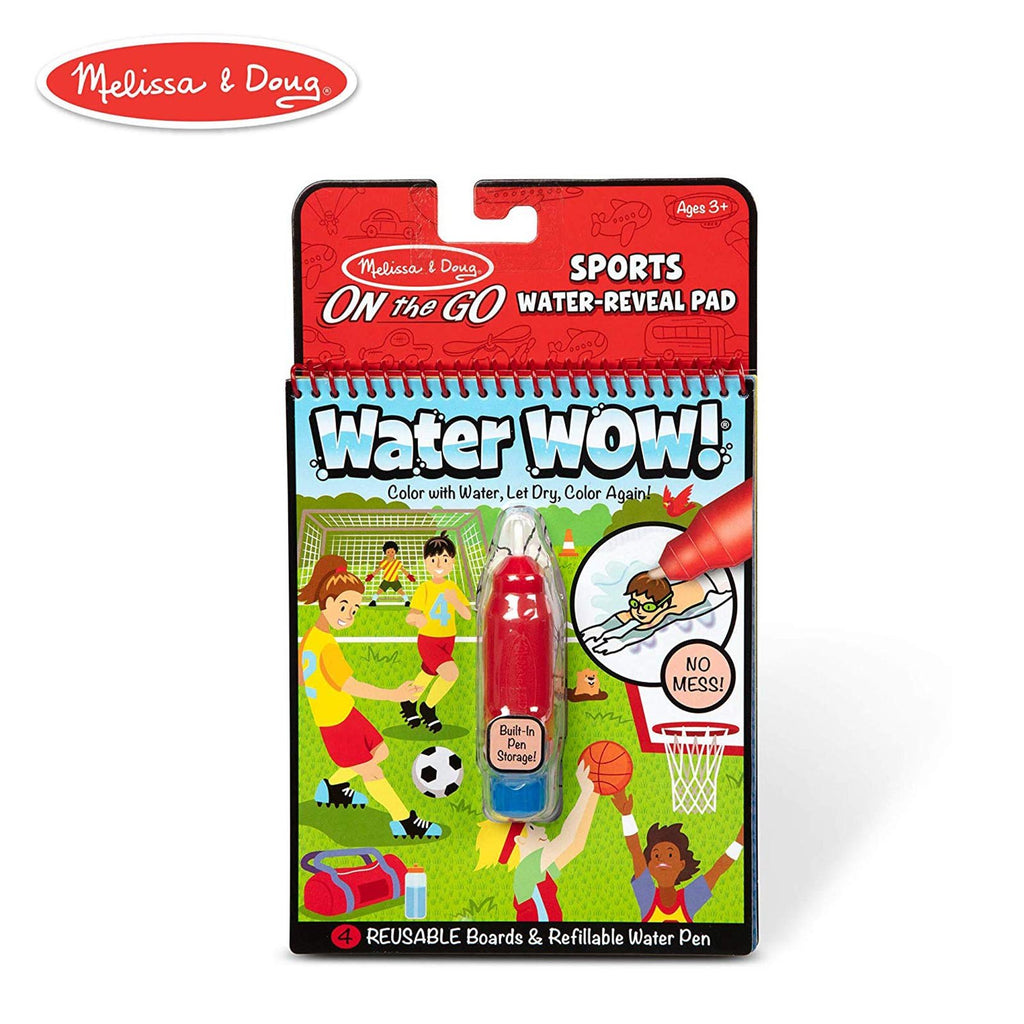 Melissa And Doug Water Wow On The Go Sports Pad