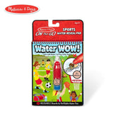 Crafts - Melissa And Doug Water Wow On The Go Sports Pad