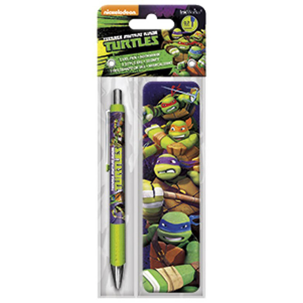 Teenage Mutant Ninja Turtles Animated Bookmark And Pen Set