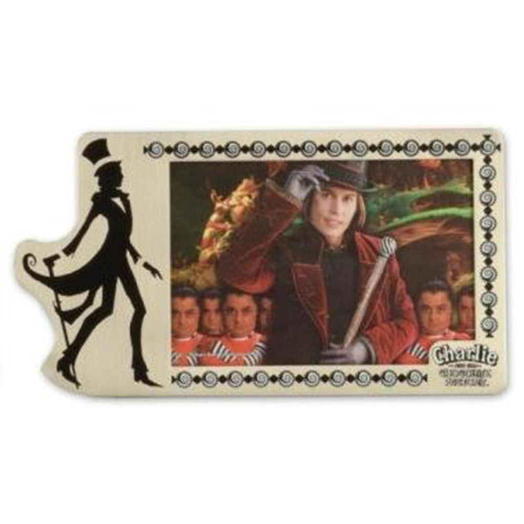 Charlie and the Chocolate Factory Pewter Picture Frame