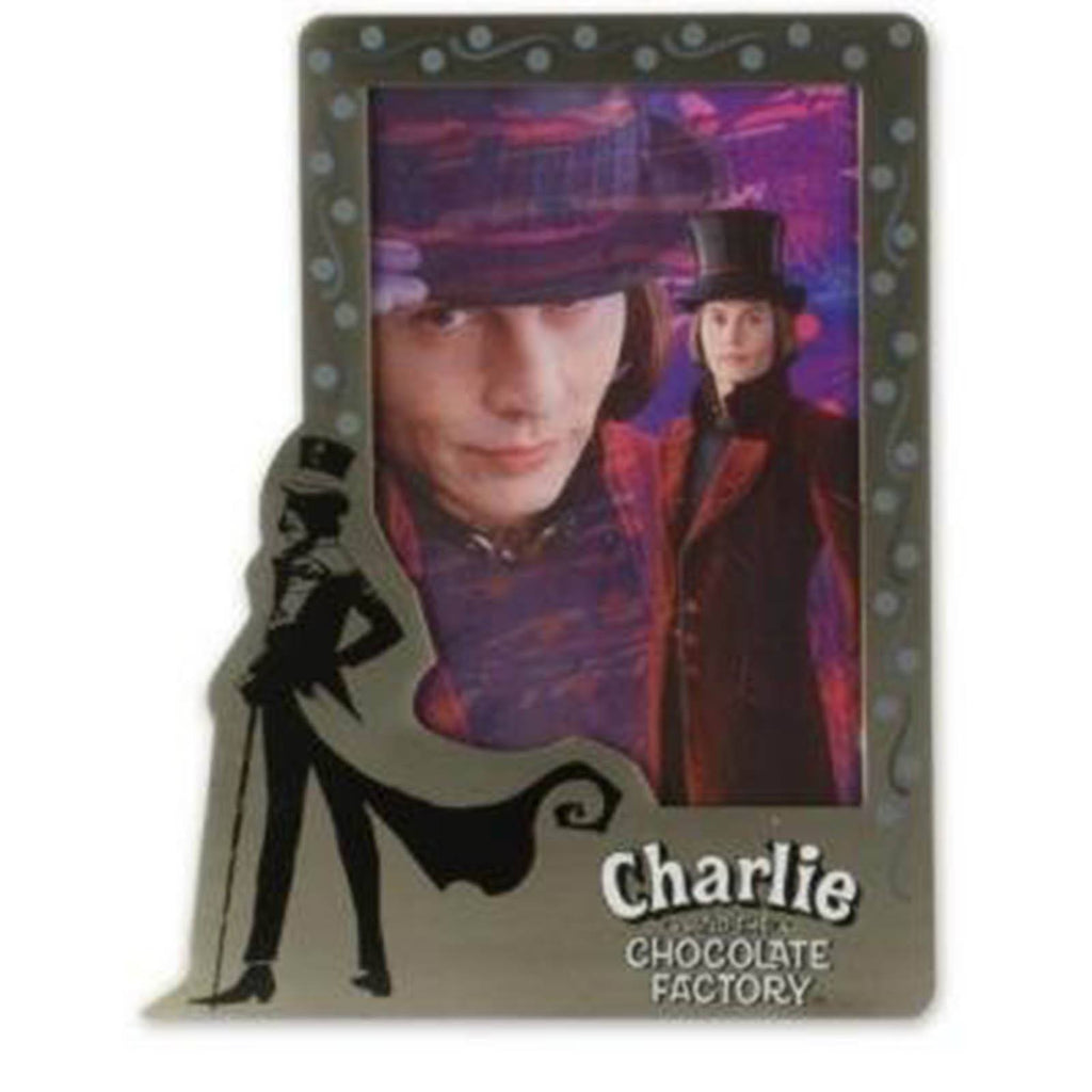 Charlie and the Chocolate Factory Pewter Picture Frame Vertical