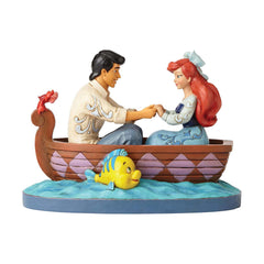 Decor Items - Enesco Disney Traditions Little Mermaid Waiting For A Kiss Figurine