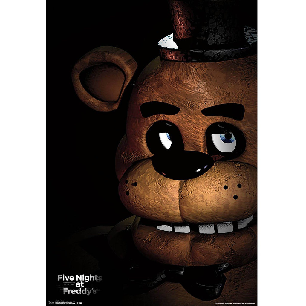 Five Nights At Freddy's Scare Wall Poster