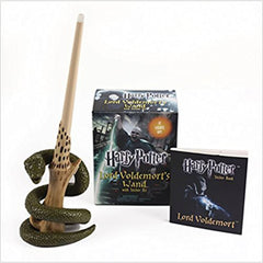 Decor Items - Harry Potter Lord Voldemort's Wand With Sticker Set
