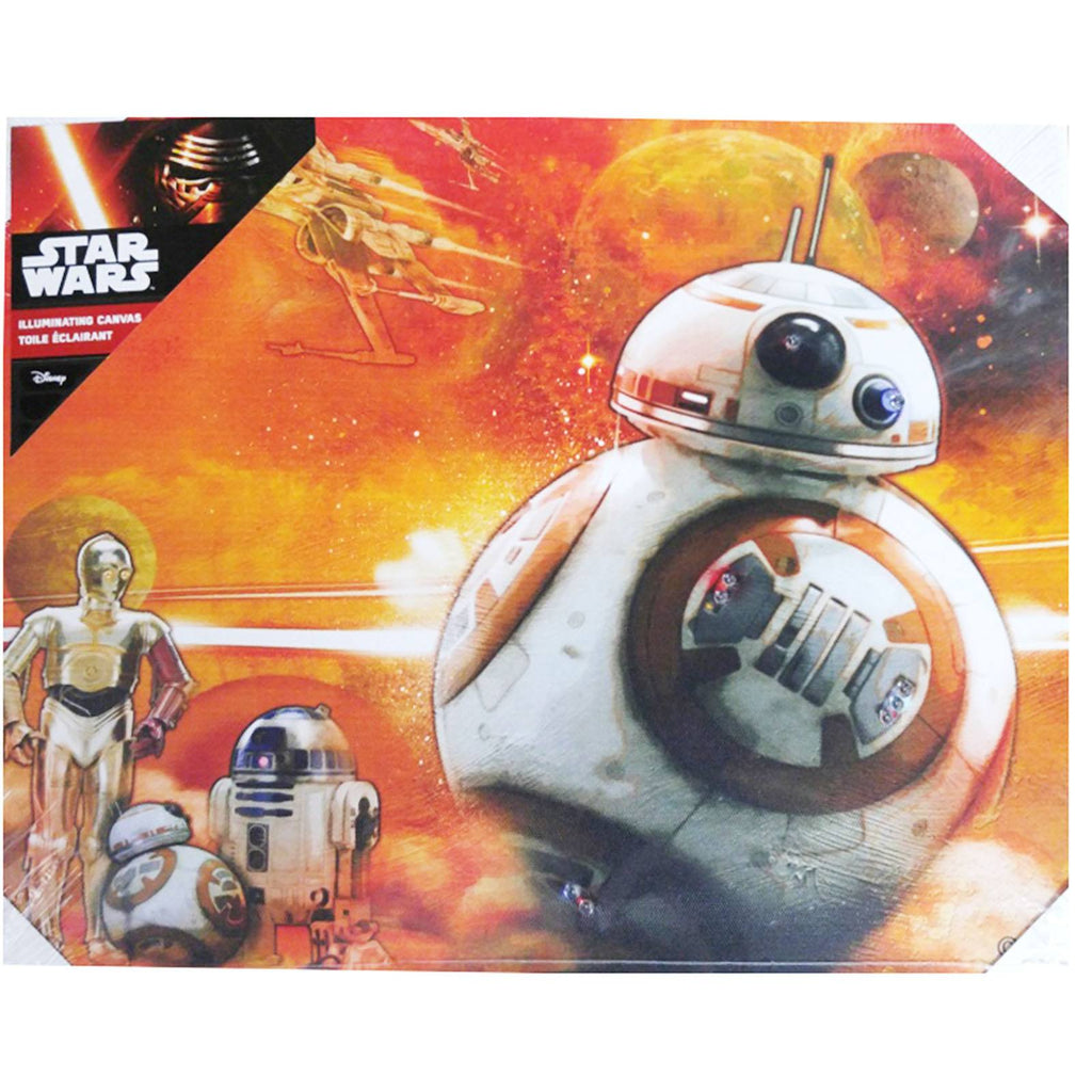 Star Wars BB-8 Illuminating Canvas