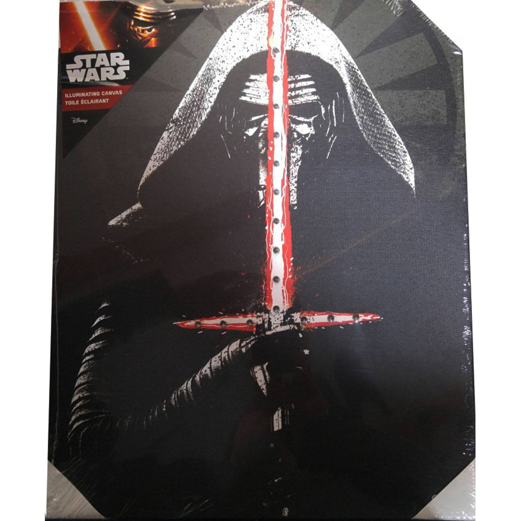Star Wars Kylo Ren Illuminating Canvas
